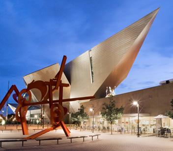 Denver Art Museum Frederic C. Hamilton Wing (Denver, CO) Credit Cody Andresen/Studio Percolate