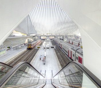 Liege-Guillemins Railway Station (Liege, Belgium) Credit Cody Andresen/Studio Percolate