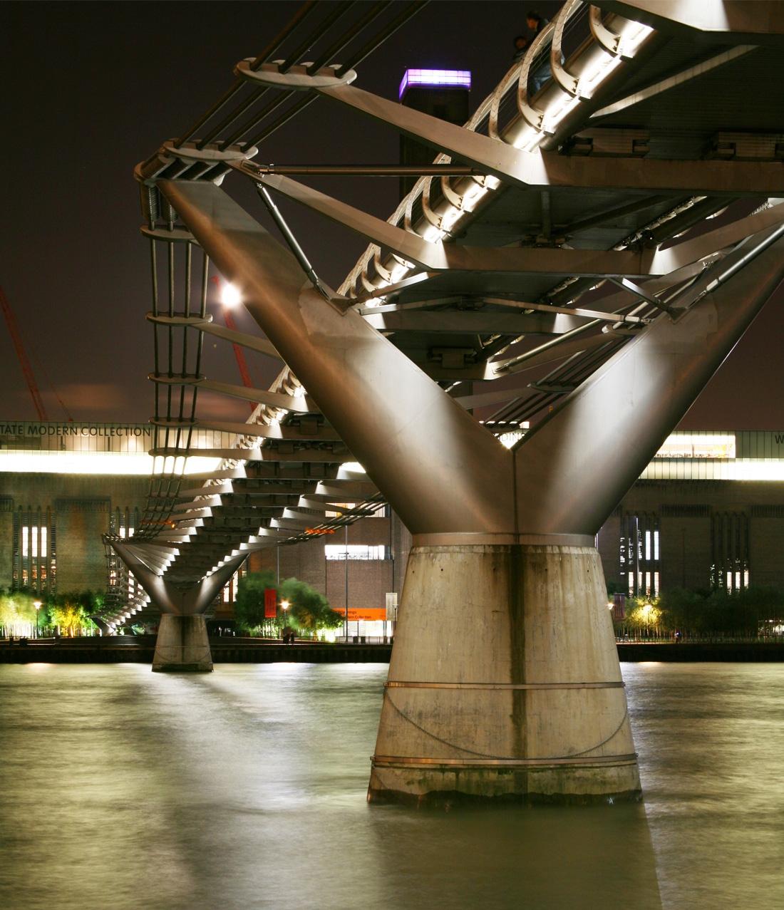 Millennium Bridge (London, United Kingdom) Credit Cody Andresen/Studio Percolate