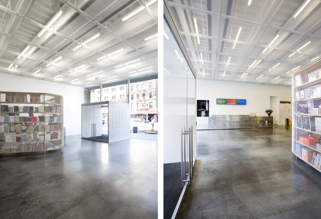 The New Museum of Contemporary Art (New York, NY) Credit Cody Andresen/Studio Percolate