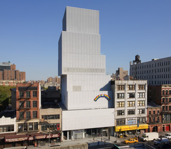 The New Museum of Contemporary Art (New York, NY) Credit Cody Andresen/Studio Percolate