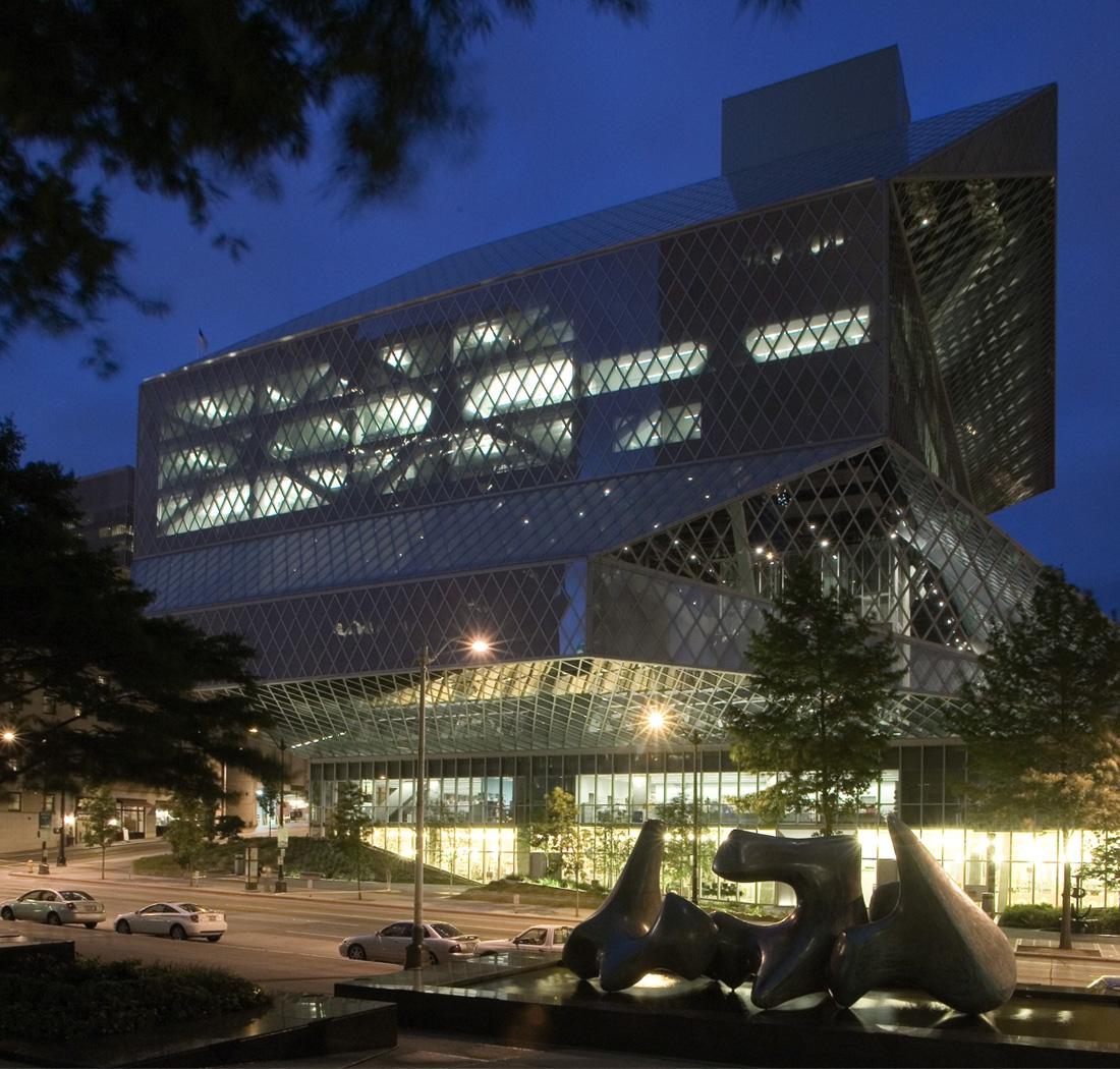 Seattle Public Library (Seattle, WA) Credit Cody Andresen/Studio Percolate